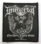 Immortal - 'Northern Chaos Gods' Woven Patch